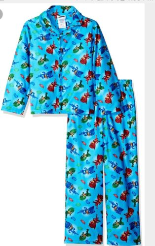 PJ Masks Toddler Boys Flannel Style long sleeve Pajamas 4T