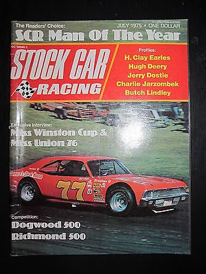 Stock Car Racing Magazine July 1975