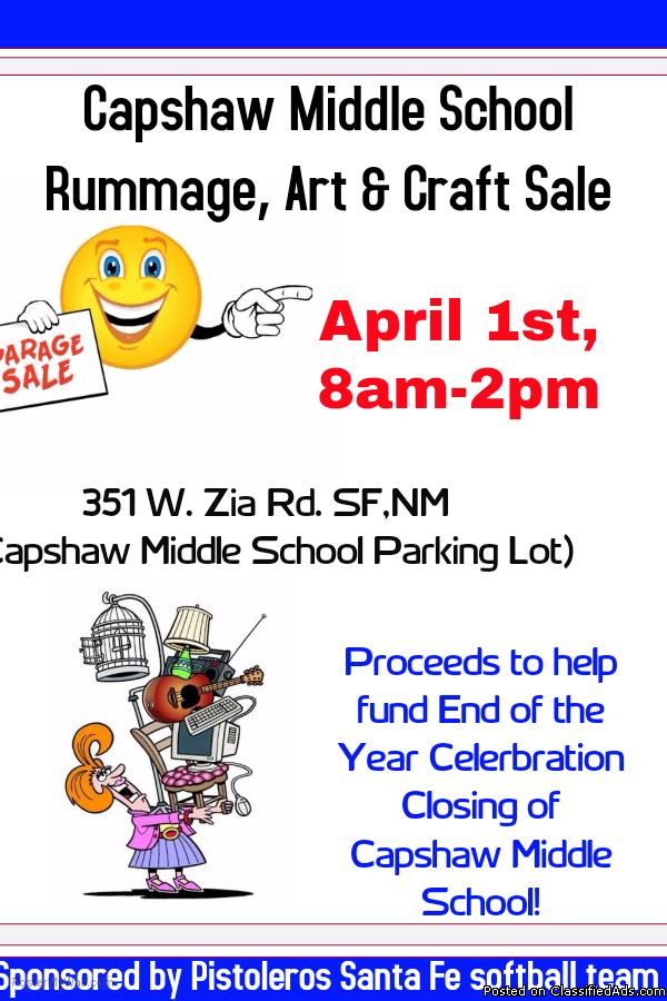 Capshaw Rummage, Arts & Craft Sale