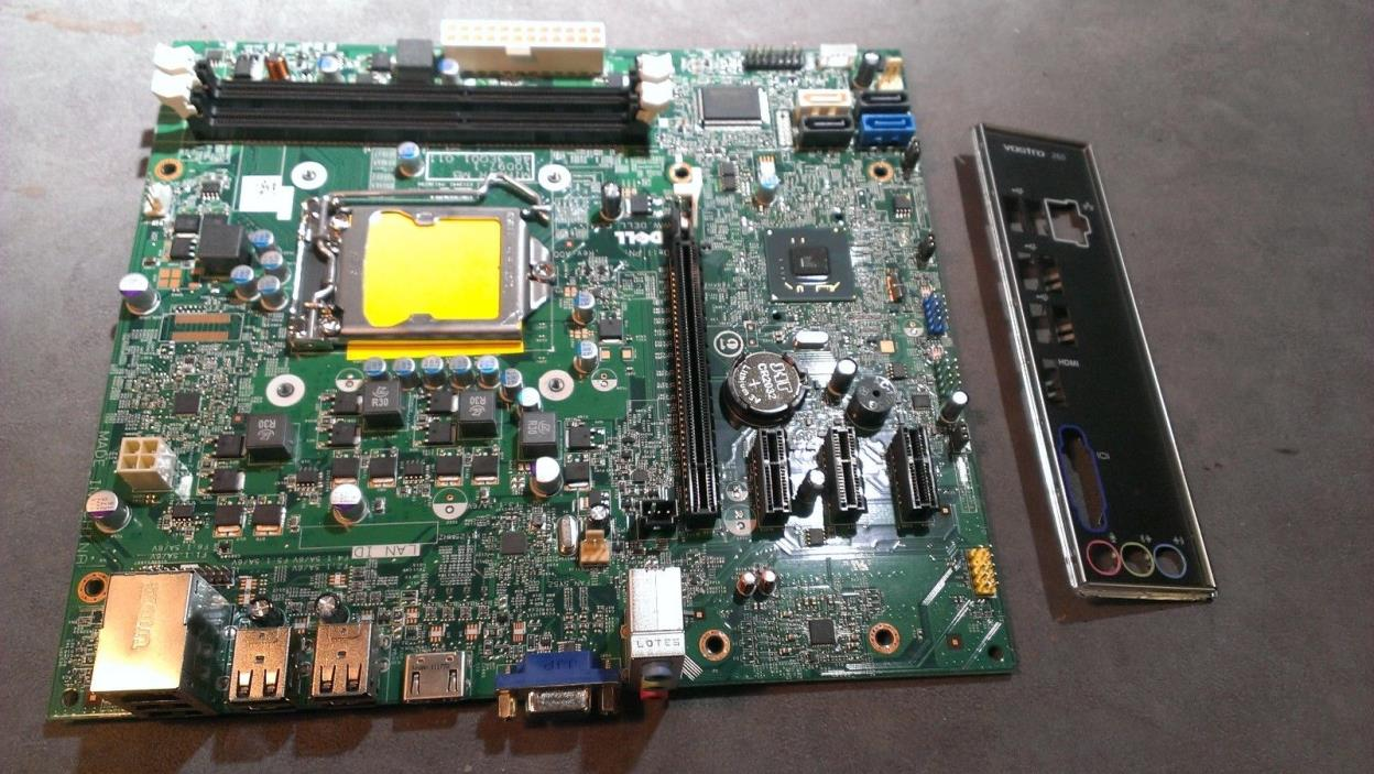 Dell Vostro 260 Desktop Intel Motherboard GDG8Y 0GDG8Y  I/O Shield  TESTED