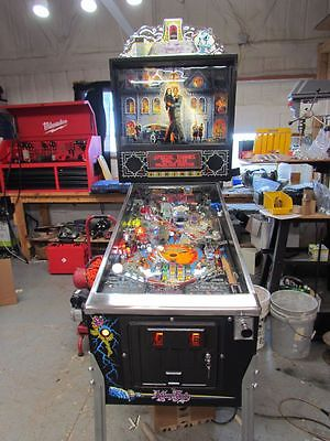 Addams Family Williams pinball machine new decals full service upgrades