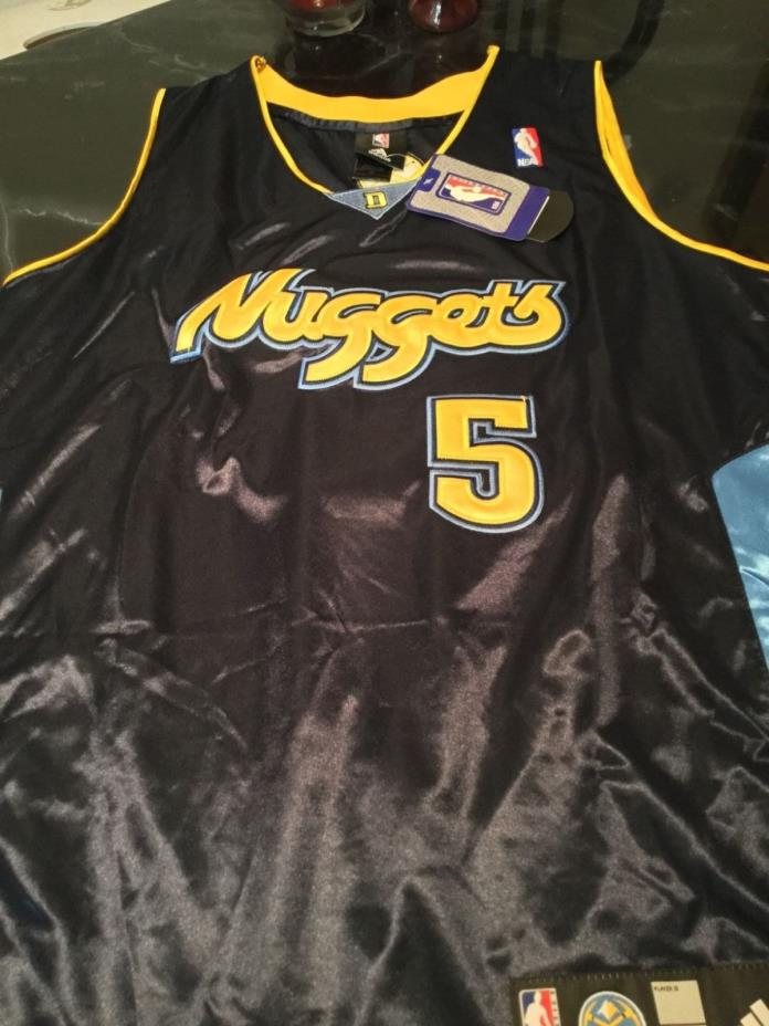 JR Smith Denver Nuggets NBA jersey. Men's size Large