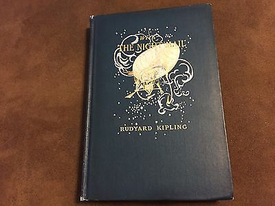 Rare Antique With the Night Mail (First Edition) Rudyard Kipling Book