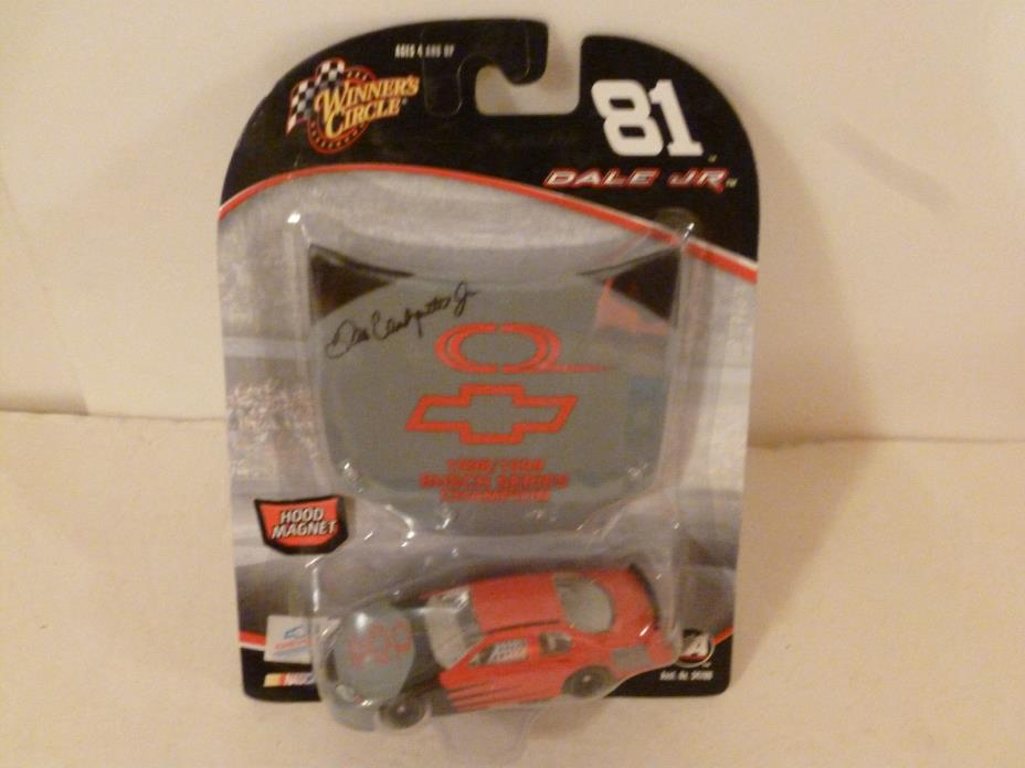 #81 DALE EARNHARDT JR.1998+99 CHAMPION HOOD 2005 CHEVY WINNERS CIRCLE 1:64