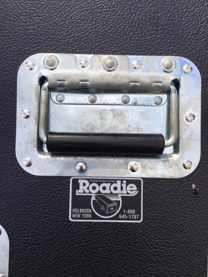 Roadie Rack / amp head case w 6 space rack for guitar bass rig