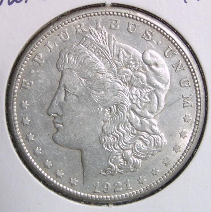 1921 S, Silver Dollar, AU, Sharp Coin,Conditional FREE USA SHIPPING