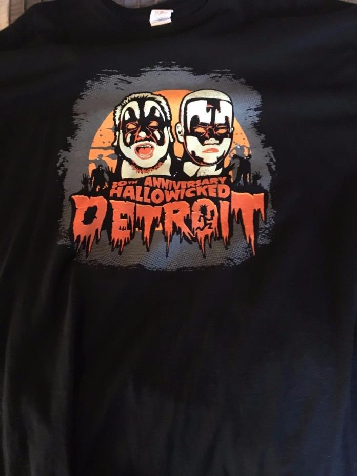 Insane Clown Posse 2014 Hallowicked T Shirt 2XL