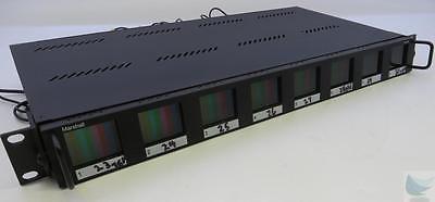 Marshall V-R18P Rack Monitor W/ 8x 1.8