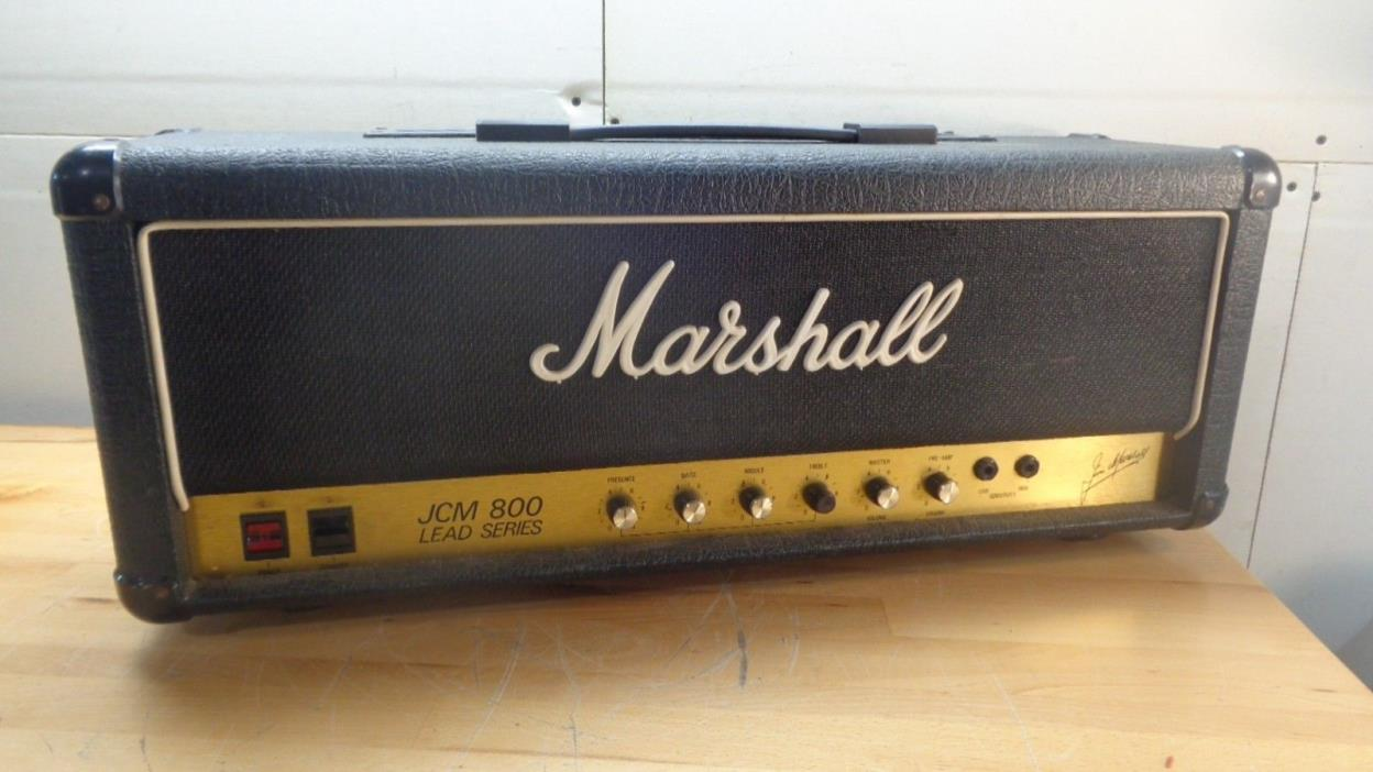 VINTAGE 1983 Marshall JCM 800 JCM800 2203 100 Watt Tube Guitar Head