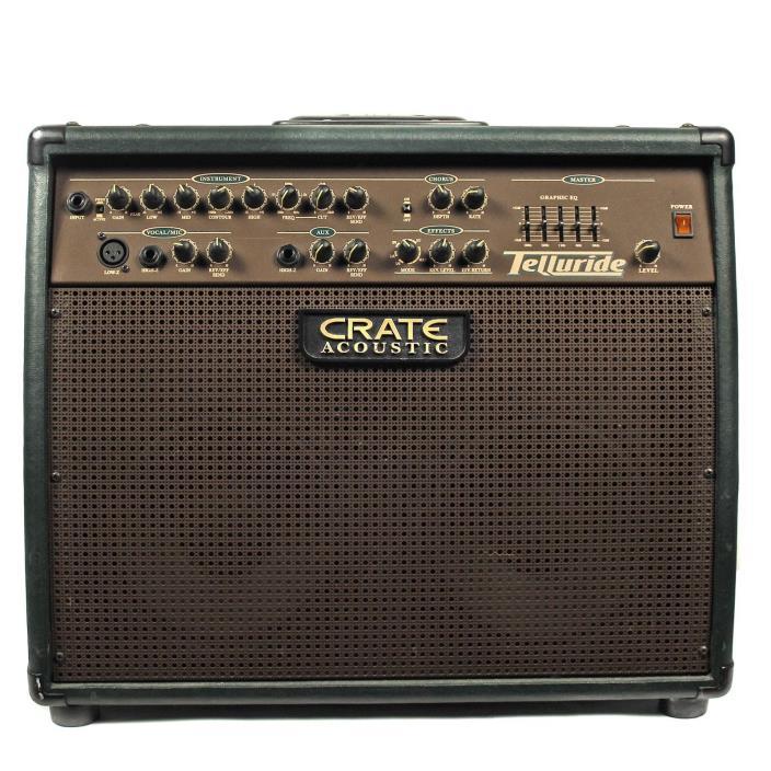 Crate CA125DG Telluride 125W Acoustic Guitar Amplifier USED