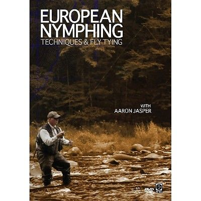 Angler's Book Supply European Nymphing Techniques & Fly Tying DVD