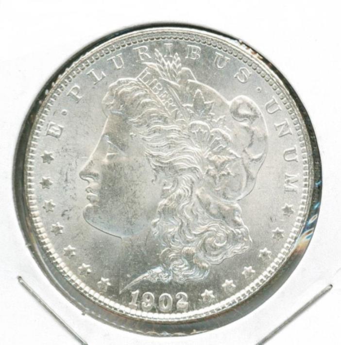 1902 O MORGAN SILVER DOLLAR (MINTED 1878-1921) ***CHOICE++ BU*** LOT 472