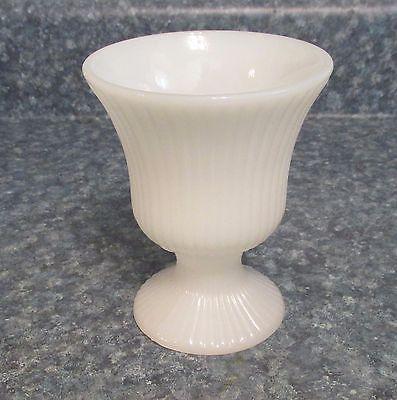 E.O. Brody Co. Cleveland, Ohio M 7000 Mid Century Milk Glass Vase