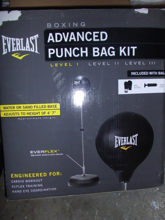 everlast reflex bag for sale classifieds