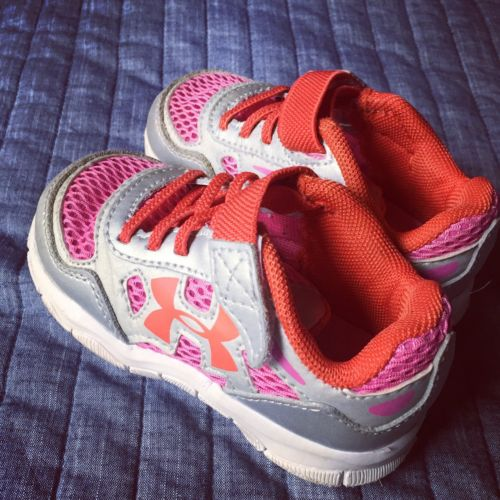 Under Armour Toddler Girl Shoes Size 6