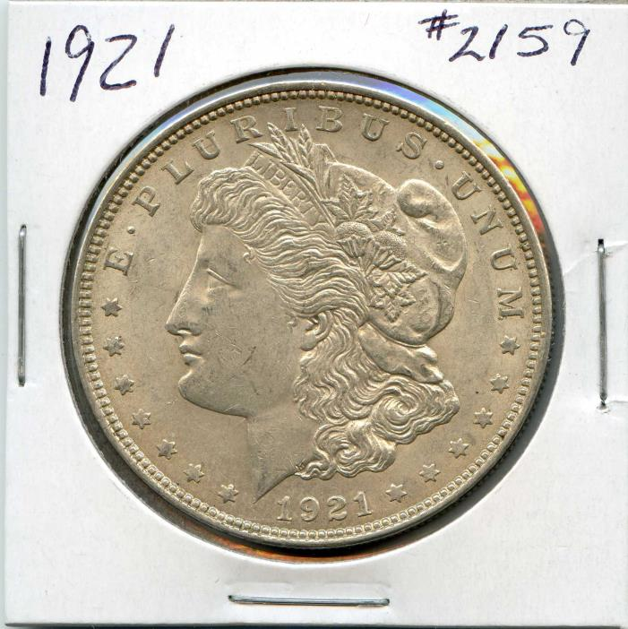 1921 $1 Morgan Silver Dollar. Circulated. Lot #1853