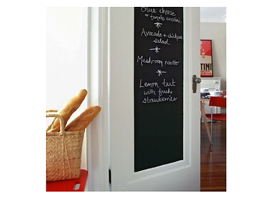 Art Blackboard Vinyl Peel Adhesive Chalkboard Home Decor Stick Self Wall Sticker