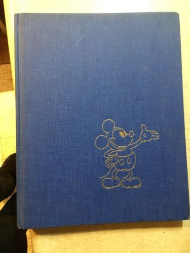 THE ART OF WALT DISNEY Vintage 1975 Christopher Finch Hardcover Book