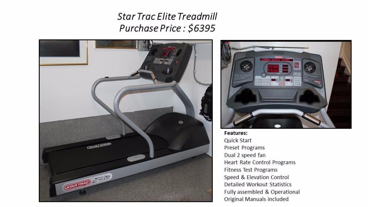 Luxury Treadmill Star Trac