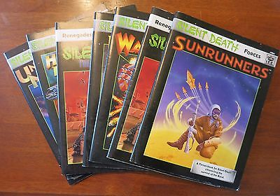 Silent Death 6 book lot I.C.E.