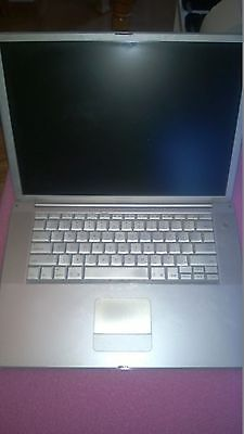 "Apple Powerbook G4 A1106 M9677LL/A 15.2"" Early 2005 (June), Untested- AS-IS"