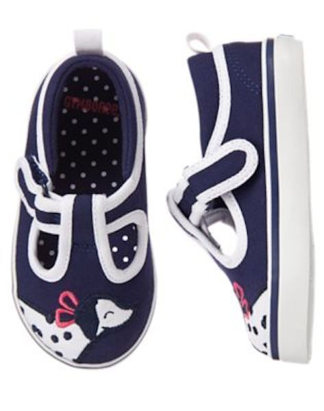 NWT Gymboree Best in Show Dalmation Sneakers Shoes Toddler girls 6,7,8,9,10