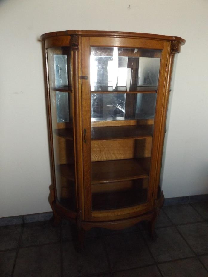 oak curio cabinets for sale antique oak curio cabinet for classifieds 23842