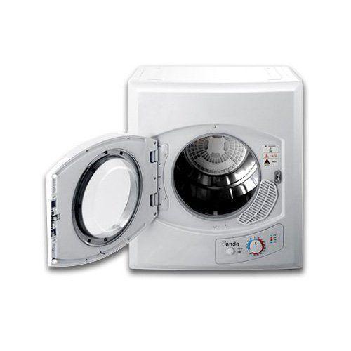 Panda 110V Portable Compact Cloths Dryer, Apartment Size White, Washer PAN60SFR