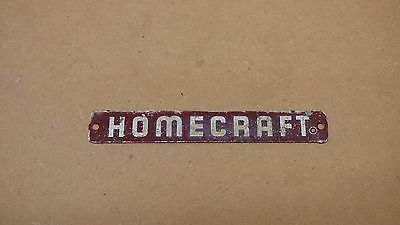 Vintage Delta HOMECRAFT Name Tag / Badge 4.75