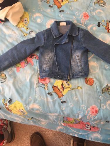 Toddler Girls Jean Jacket Size 4T