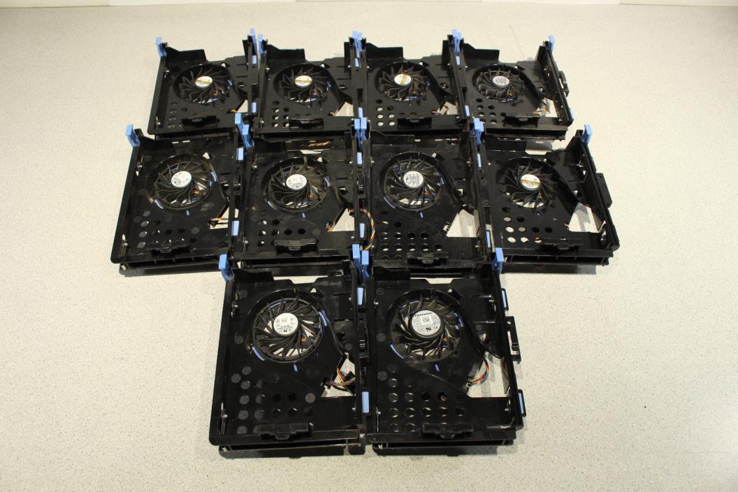 Lot of 10 Dell Optiplex SFF 745 755 760 780 Hard Drive Caddy w/ Fan NH645
