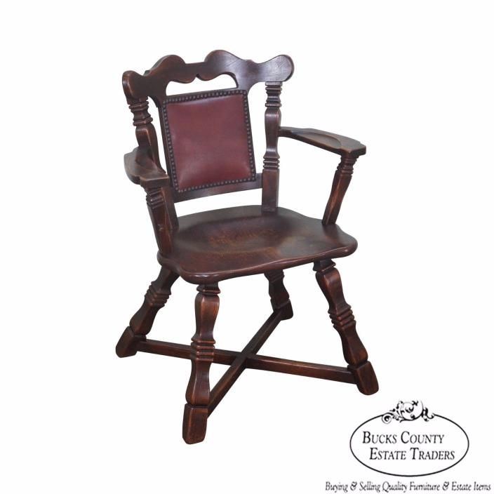 Captains Arm Chairs ~ Oak captains chairs for sale classifieds