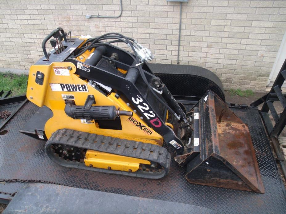 2008 Mini Skid Steer Boxer 322D Walk behind