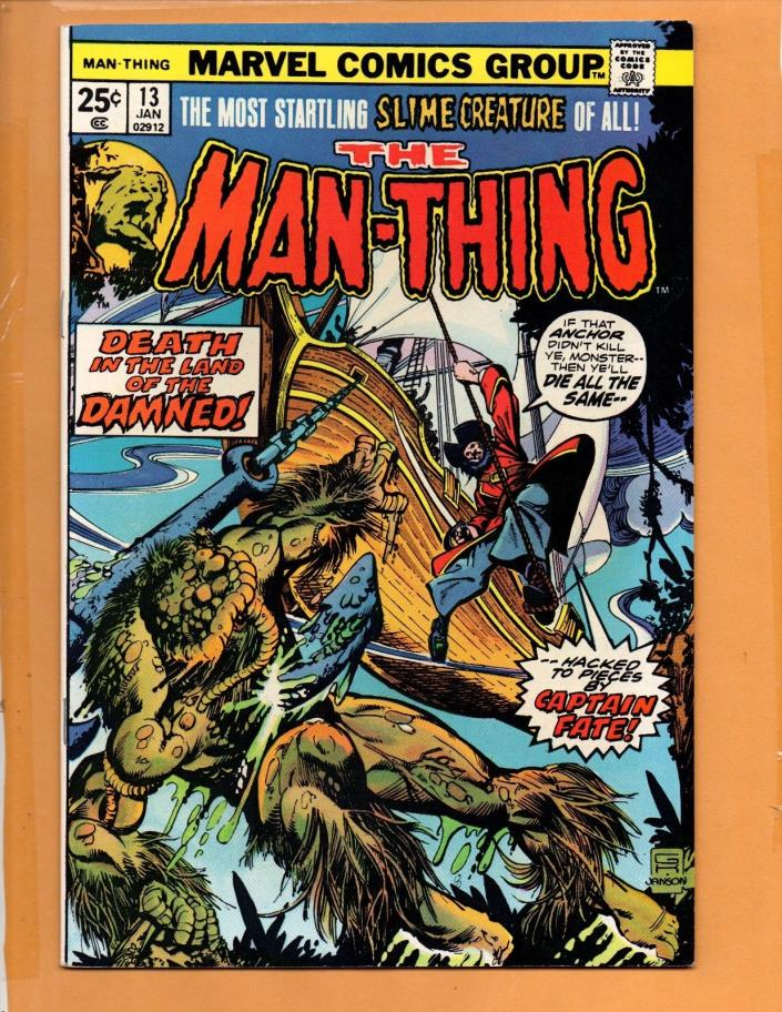 Man-Thing #13 Jan 1975  VF/NM