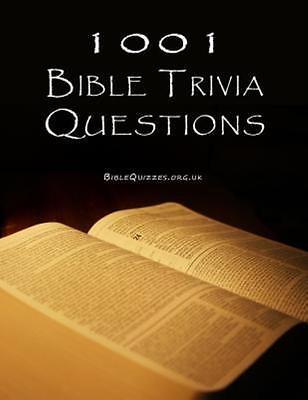 1001 Bible Trivia Questions