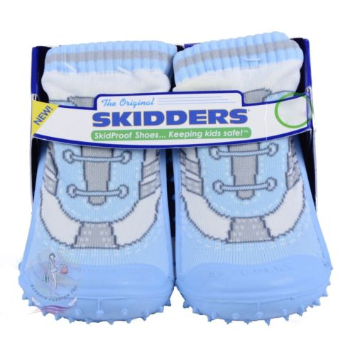 Skidders Baby Toddler Boys Shoes Sz 4-12M Style #XY3148 NWT