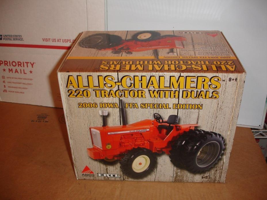 1/16 allis chalmers 220 ffa toy tractor