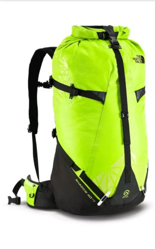 The North Face SHADOW 40 +10 liters Backpack L/XL Day Pack Summit Series Green