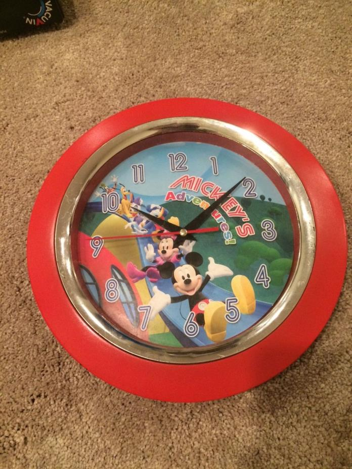 Vintage Mickey Mouse Wall Clock - For Sale Classifieds