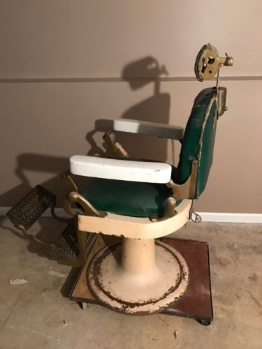 Antique Hercules Barber Chair