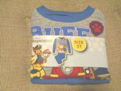 Boys 3T Paw Patrol Pajama set 2 pc pajamas Basic Cotton PJ set NWT