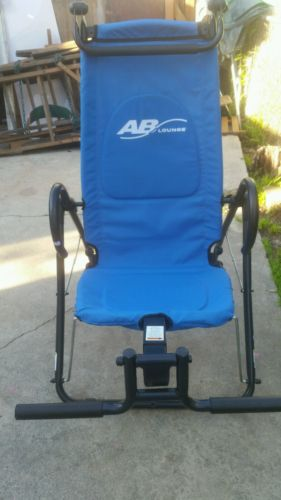 AB LOUNGE SPORT ABDOMINAL EXERCISE WORKOUT FITNESS CHAIR