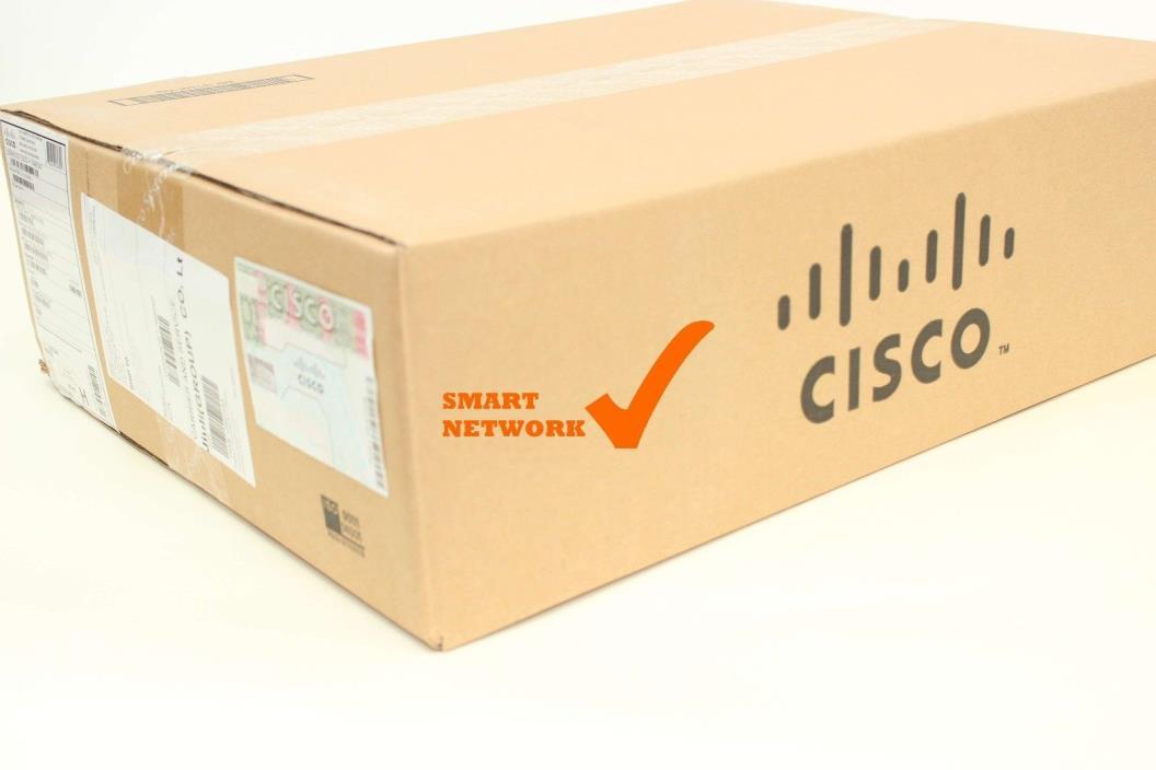 NEW Cisco ASR1002-5G-SHA/K9 ASR1002 Sec+HA Bundle w/ ESP-5G, AESK9