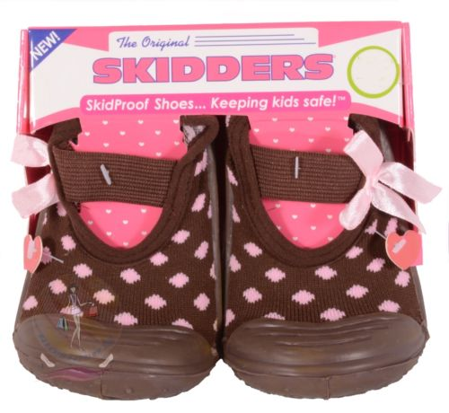 Skidders Baby Toddler Girls Mary Jane Shoes Size 12 - 4 Years Style XY4112 -NWT