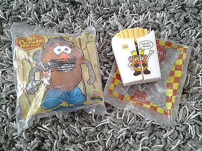 Burger King MR POTATO HEAD kids meal toy lot plush car