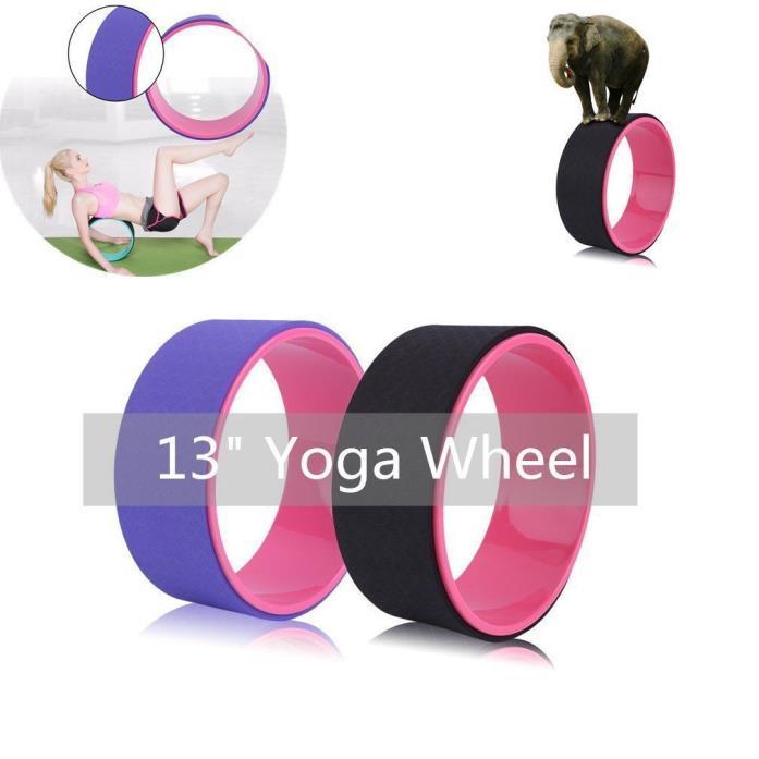 "Balance Yoga Wheel 13"" Stretching Pilates Backbends Flexibility Balance Fitness"