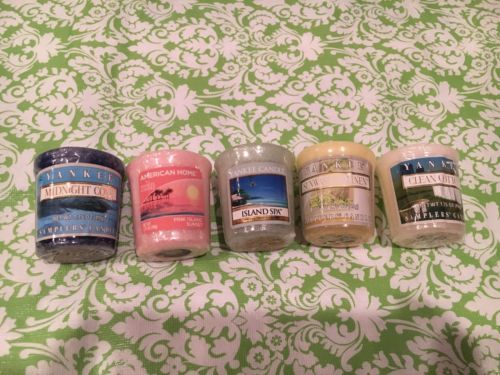 Yankee Candle Votive Candle Set Of Five