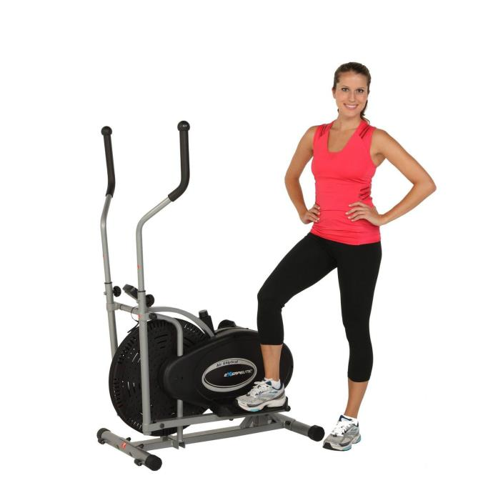 Elliptical Exercise Equipment Fitness Workout Machine Cardio Gym Trainer New