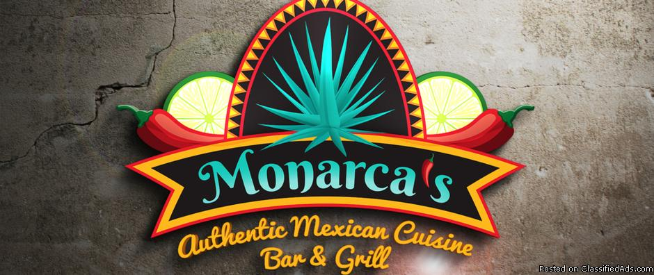 Monarcas Authentic Mexican Cuisine Bar & Grill