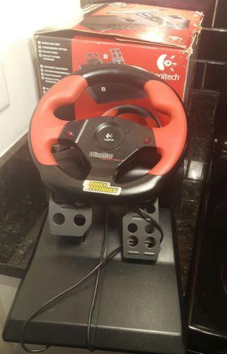 Logitech WingMan Formula Force GP Wheel with Pedals 963221-0403